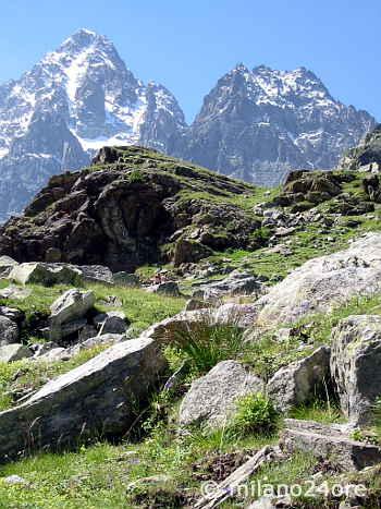 Bergwelt von Ligurien und Piemont